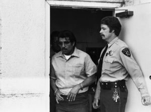 18 Sep 1978, Fairfield, California, USA --- Juan Corona Leaves the Courthouse --- Image by © Bettmann/CORBIS