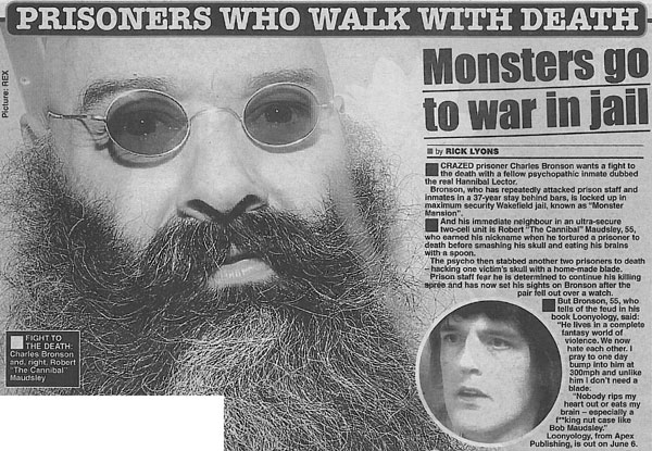 Robert Maudsley Robert Maudsley Considered the Most Dangerous British Prisoner